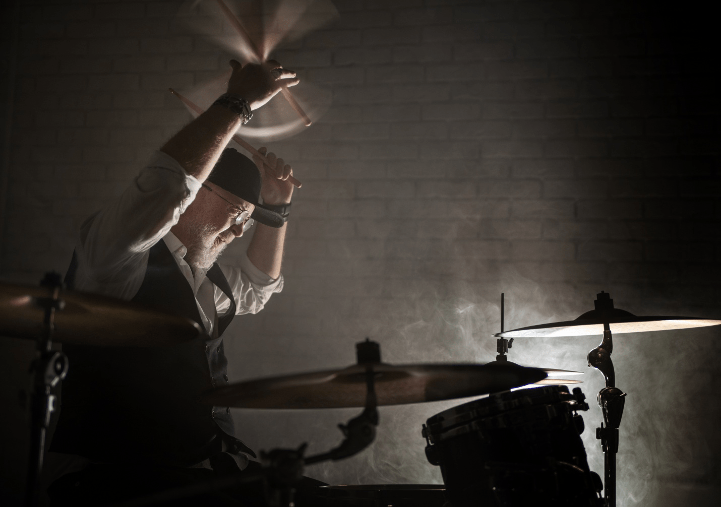 Learning to Play Drums at Age 40