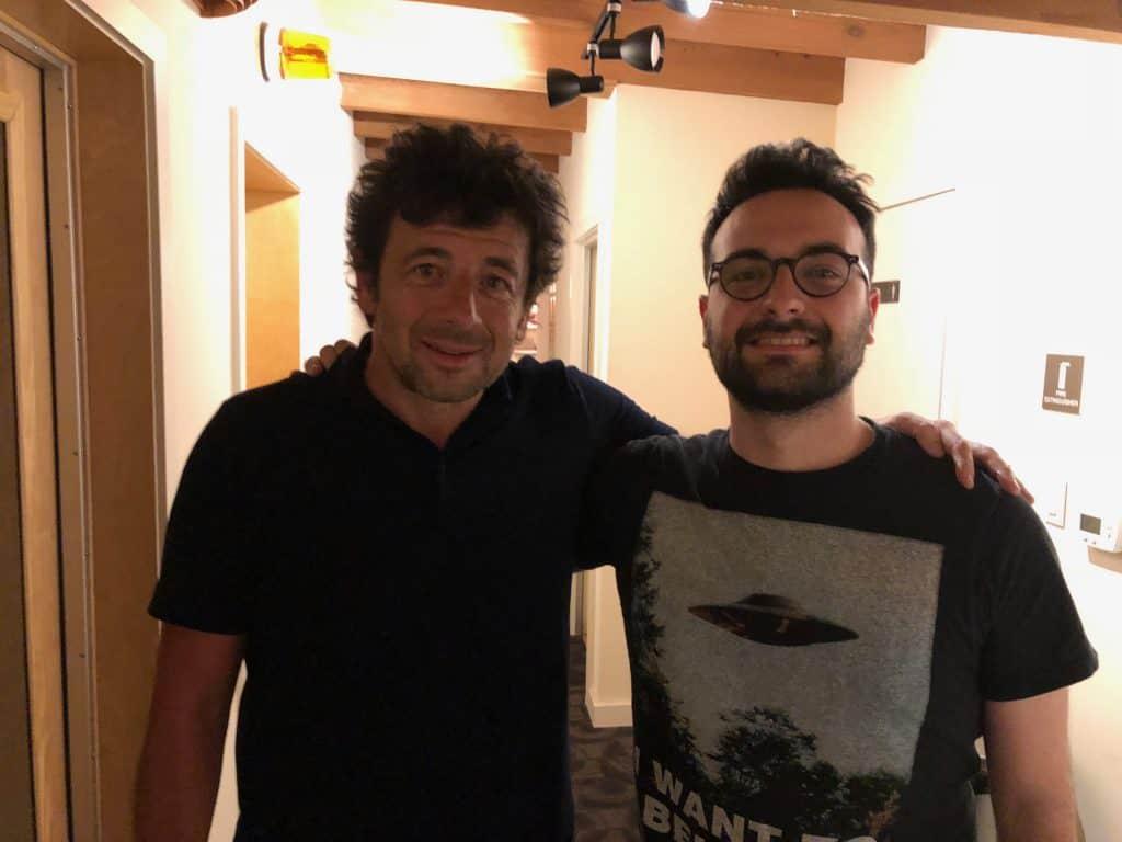 Gervais Maillard with Patrick Bruel