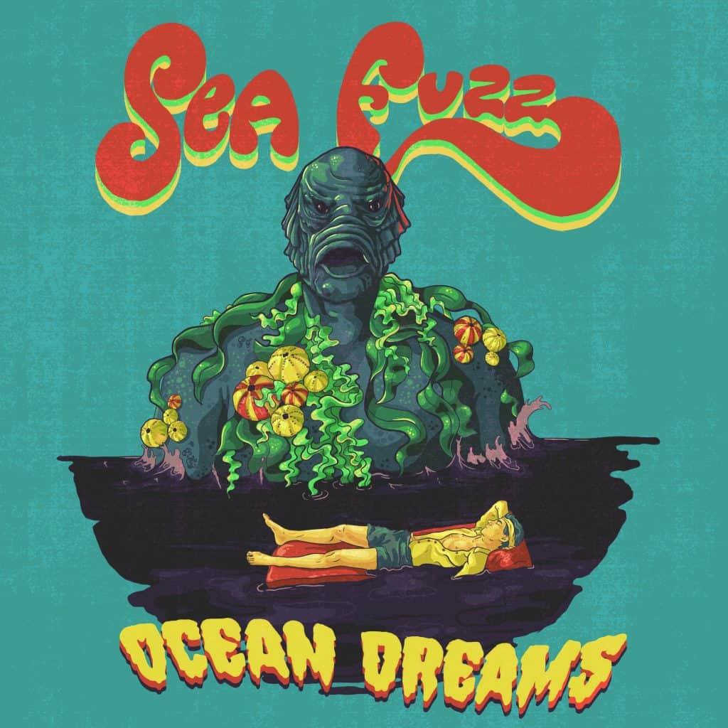 ocean dreams by sea fuzz album cover