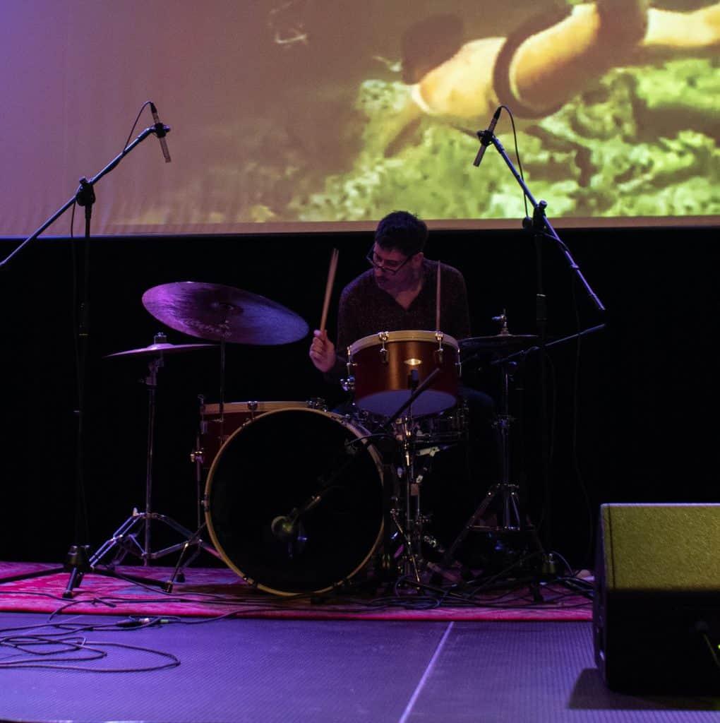 Alberto Falsina, playing with Sea Fuzz in Barcelona