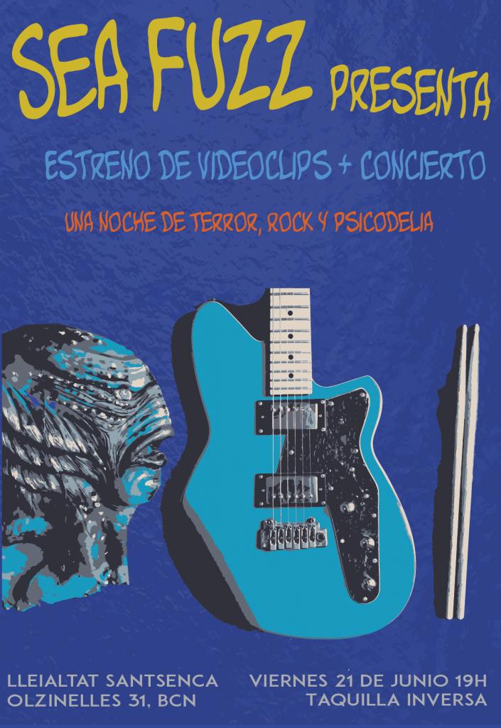 Sea Fuzz Concert Poster