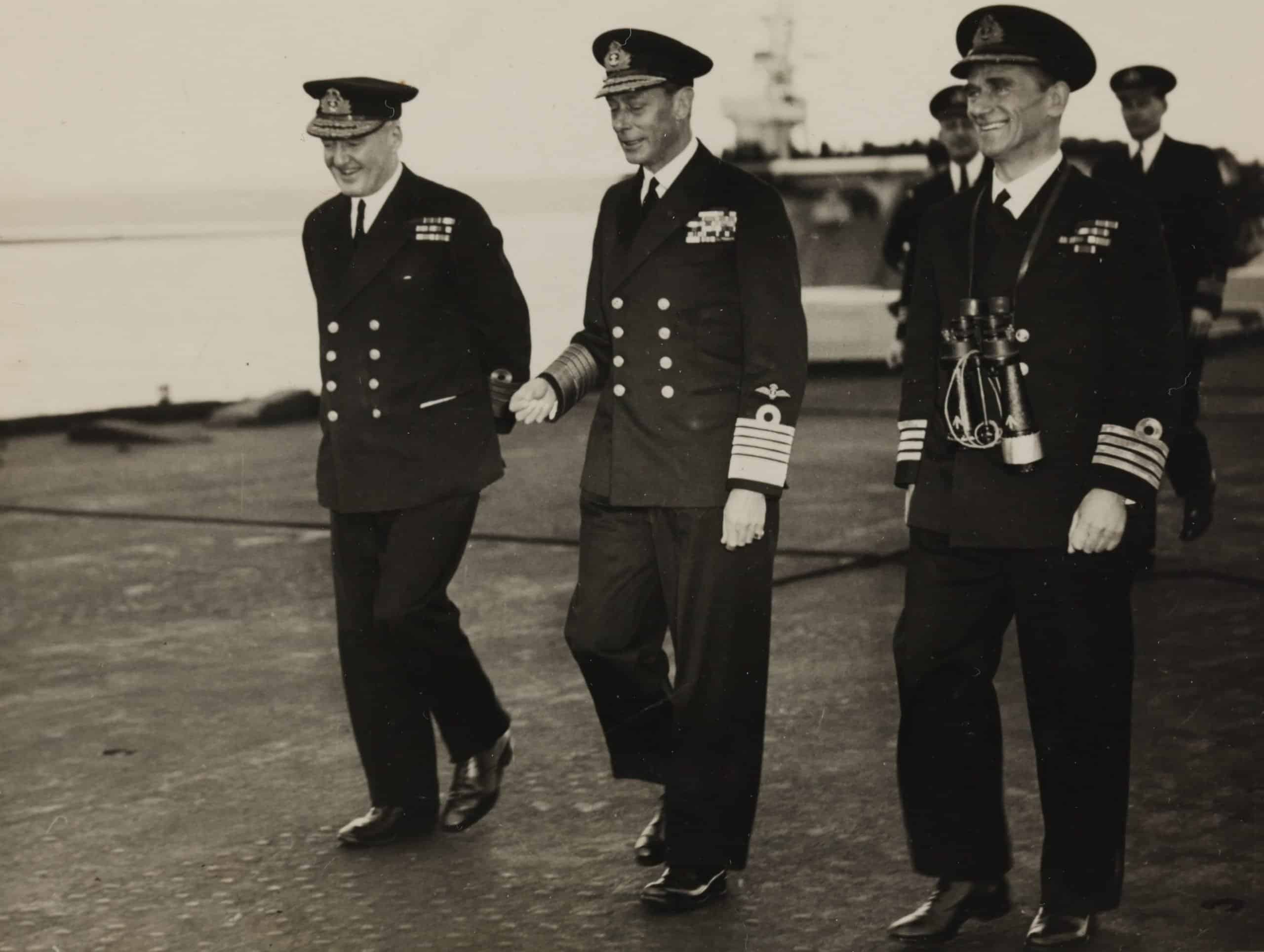 King George VI, Able Seaman David Ralph Goodwin, circa 1950